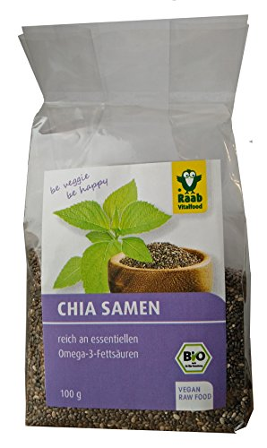 100 g raab vitalfood bio chia samen vegan chiaseeds24 shop. Black Bedroom Furniture Sets. Home Design Ideas