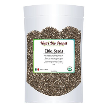 Certified Organic Bulk Chia Seeds: Raw & Non-GMO, 5 Pounds - 6