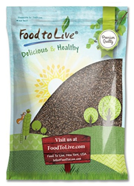 Food To Live Chia Seeds (25 Pounds) - 1