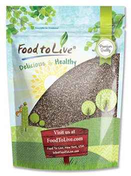 Food To Live Chia Seeds (5 Pounds) - 1