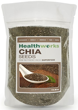 Healthworks Chia Seeds 5 Pounds - 1