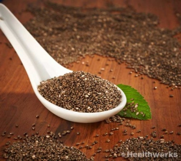 Healthworks Chia Seeds 5 Pounds - 2