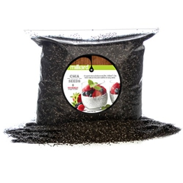 Milliard Chia Seeds Natural, Non GMO and Gluten Free- 5lbs - 1