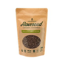 Organic Chia Seeds 1 Pack of 12 Oz - 1