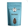 Presidents Day 24% Discount - 4lbs Black Raw Chia Seeds are Rich in Omega 3, Antioxidants, Minerals and Fiber - Great for Baking, Smoothies and Salads - Vegan Diet Friendly - 1