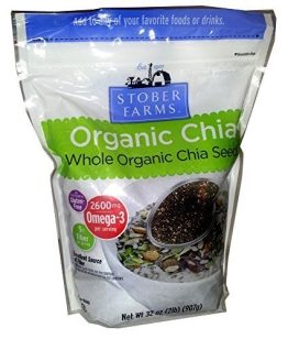 Stober Farms Whole Organic Chia Seed, 2 Pound by Stober Farms - 1
