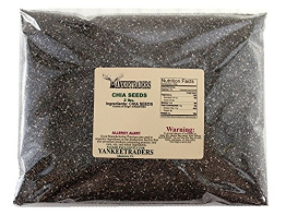 Yankee Traders Brand, Chia Seeds, Black (2 Pounds) - 1